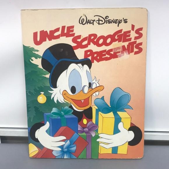 Walt Disney's Uncle Scrooge's Presents kids book